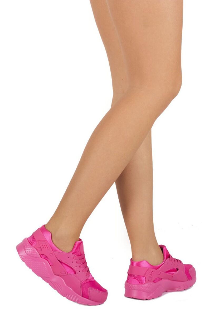 Różowe Buty Sportowe Ricardo
