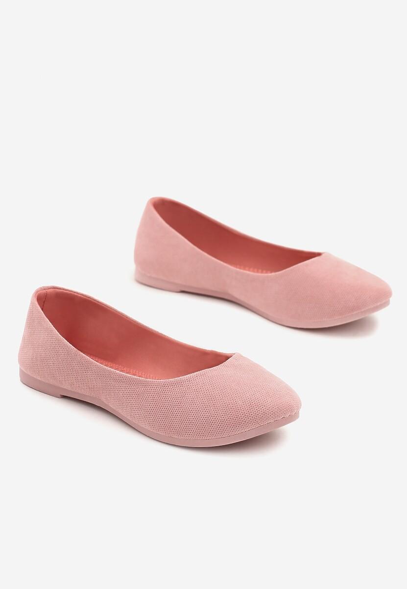Różowe Balerinki Gibbs