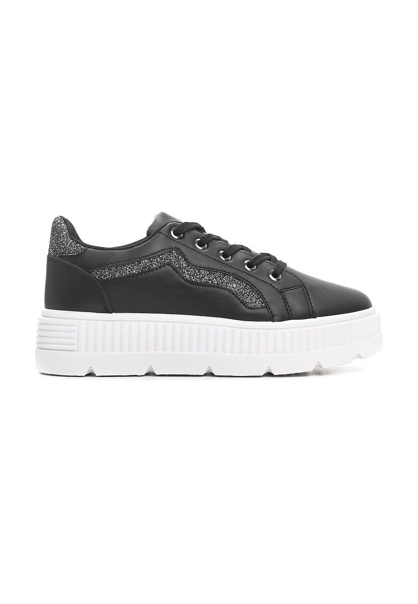 Czarne Sneakersy Virtuoso