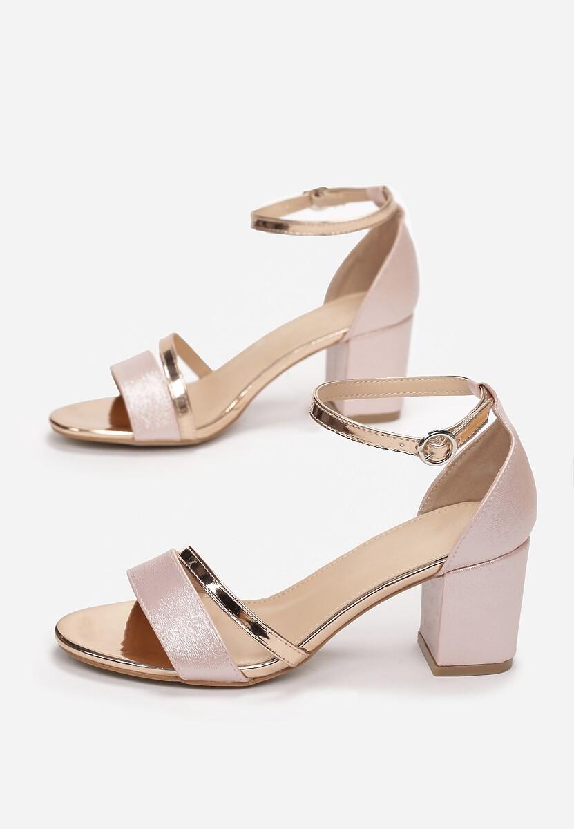 Szampańskie Sandały Equal