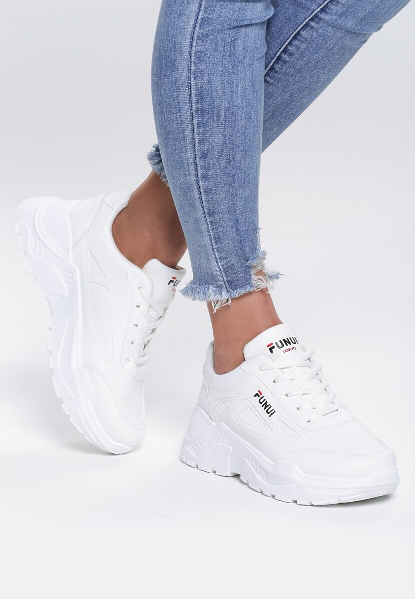 Białe Sneakersy Symbol