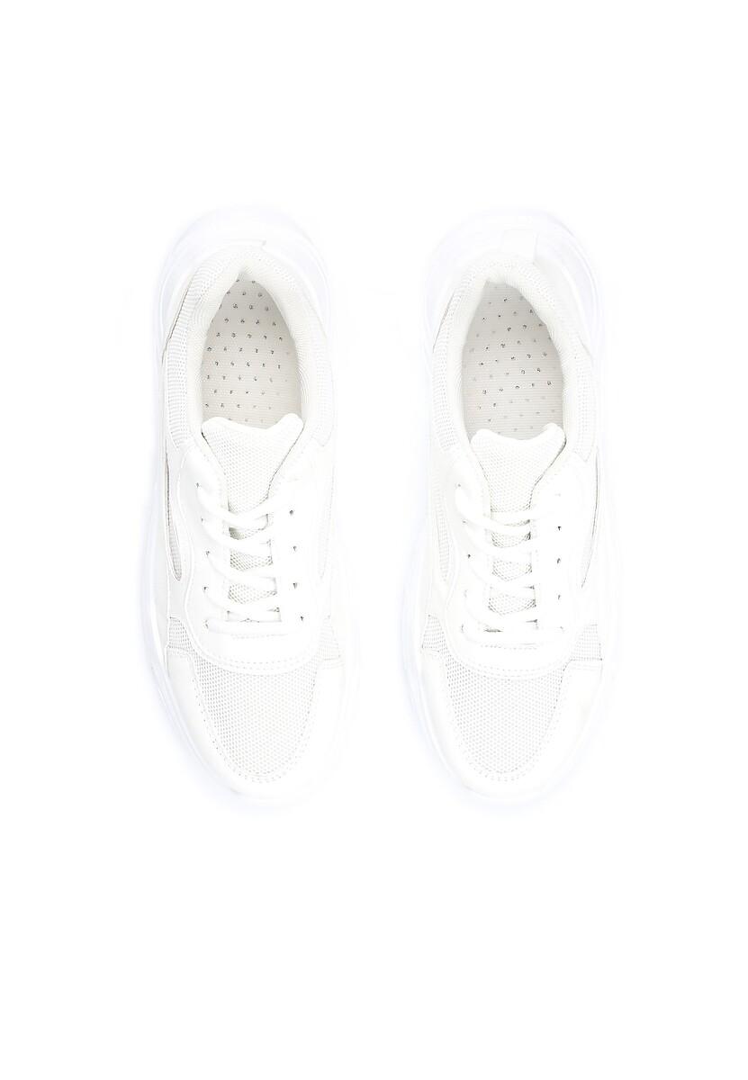 Białe Sneakersy Wire
