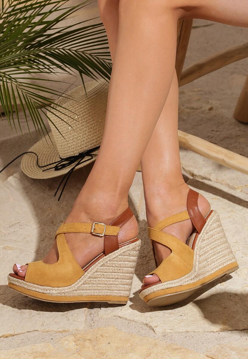 Żółte Sandały Allegiant