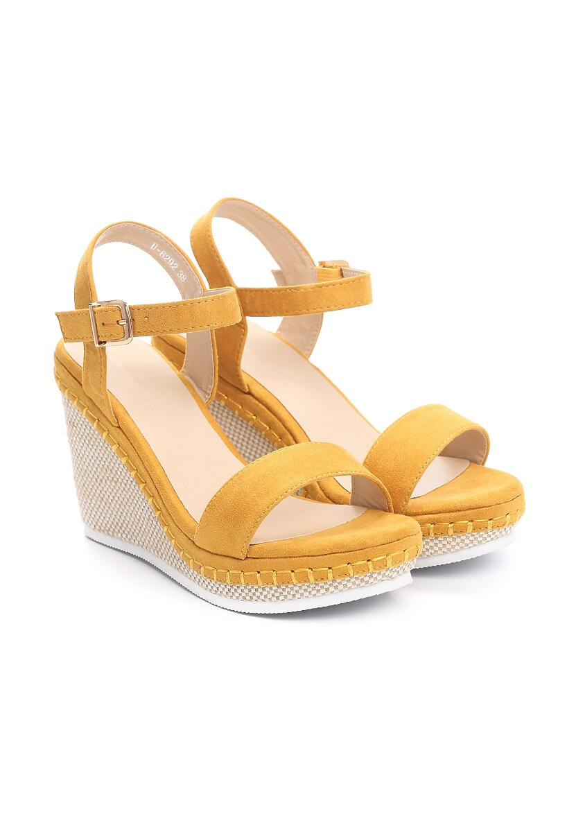 Żółte Sandały Gainfuls