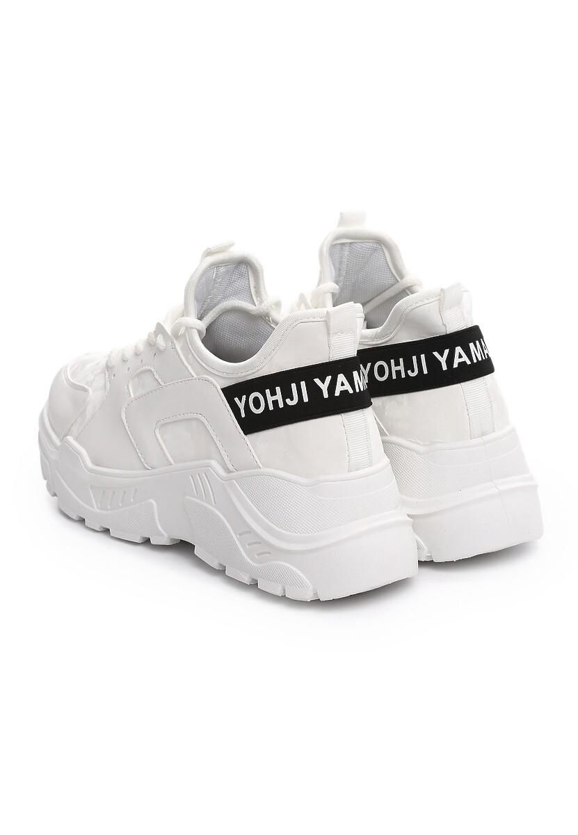 Białe Sneakersy Duststorm