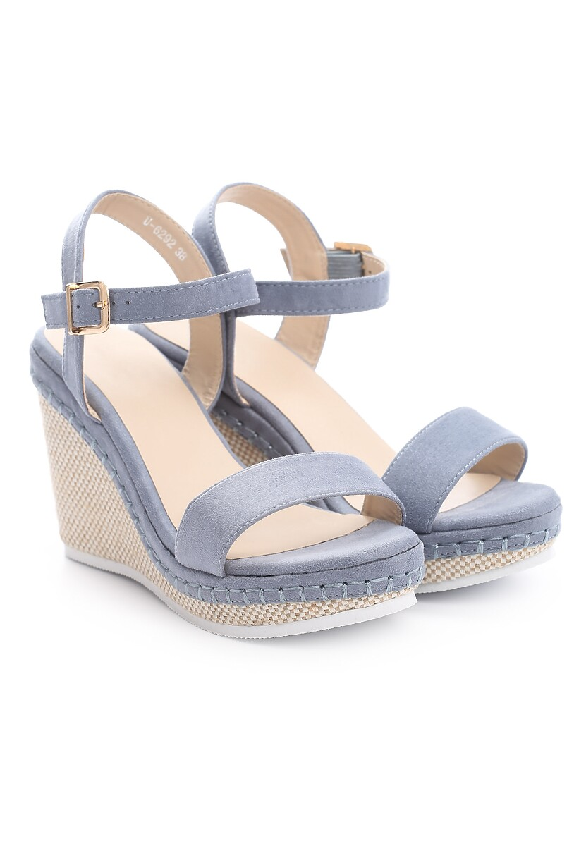 Niebieskie Sandały Gainfuls