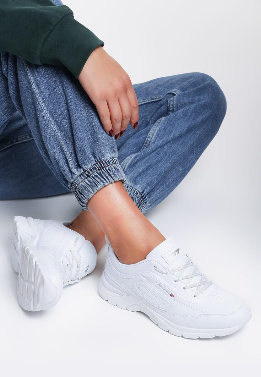 Białe Buty Sportowe Calista