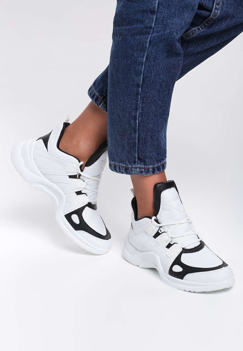 Białe Sneakersy Candace