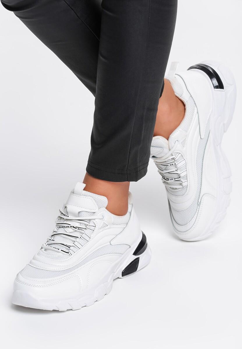 Białe Sneakersy Waddon