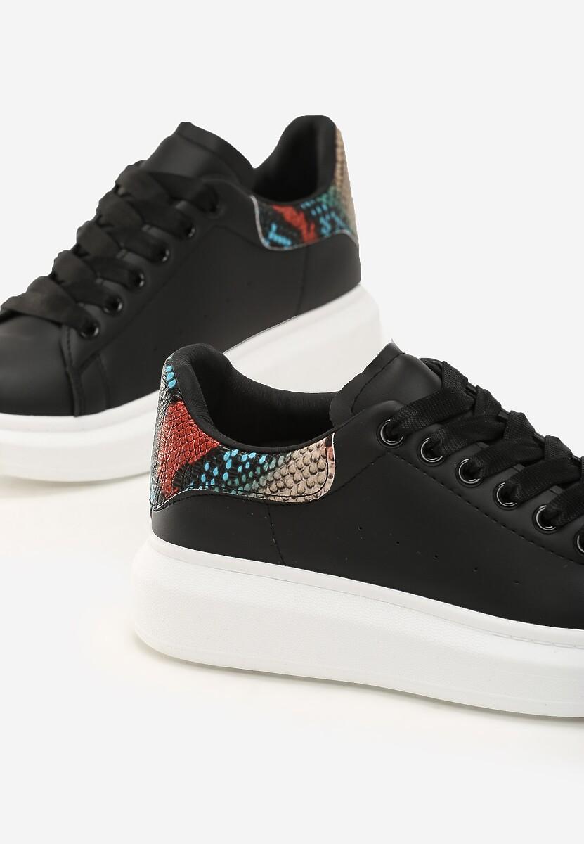 Czarne Sneakersy Wembley