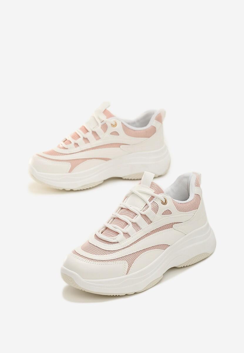 Białe Sneakersy Marabella