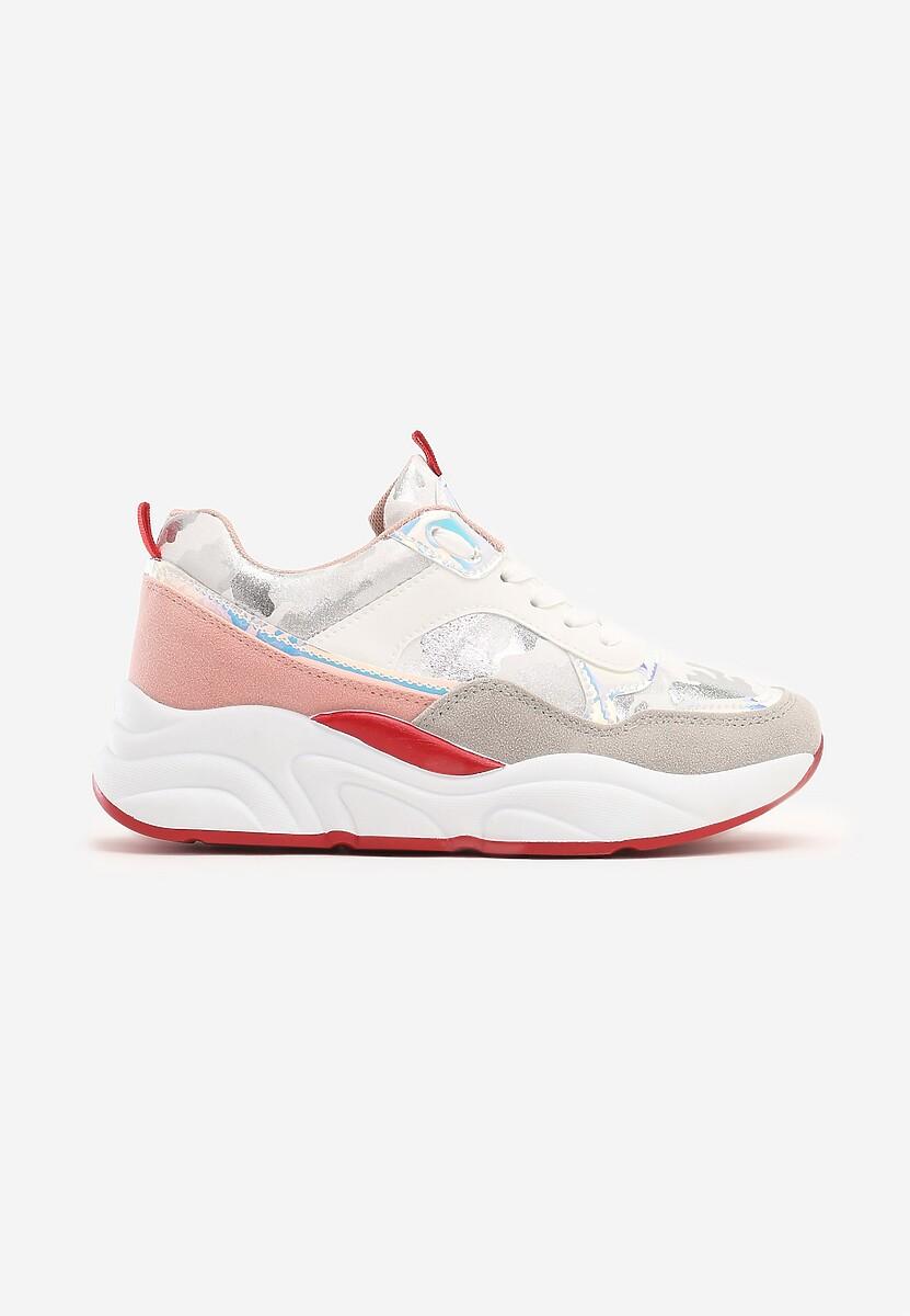 Białe Sneakersy Grasse
