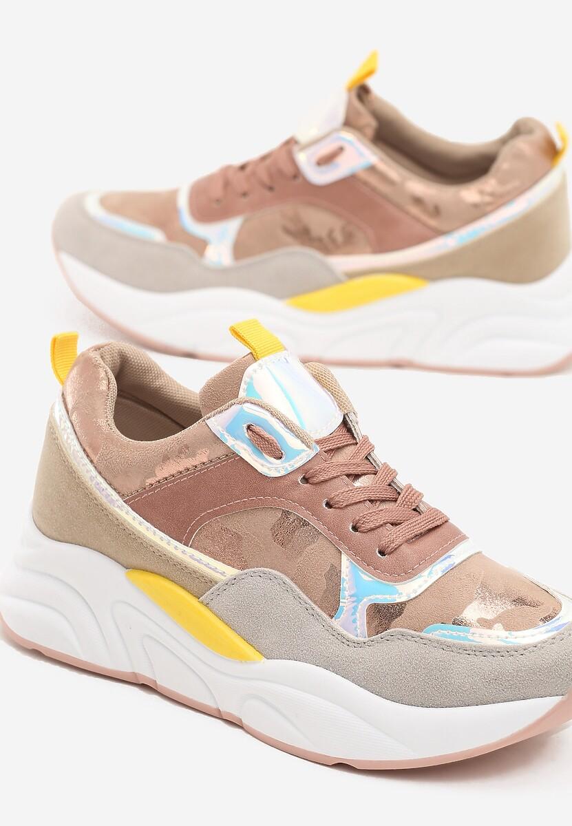 Różowe Sneakersy Grasse