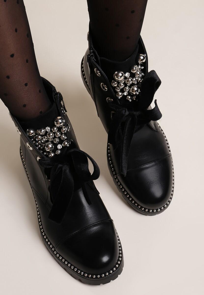 Czarne Botki Vannes