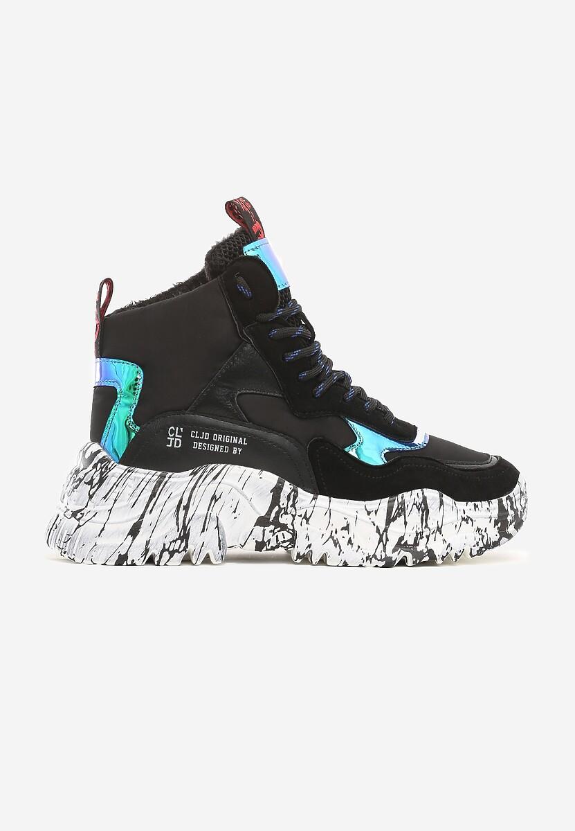 Czarne Sneakersy Villejuif