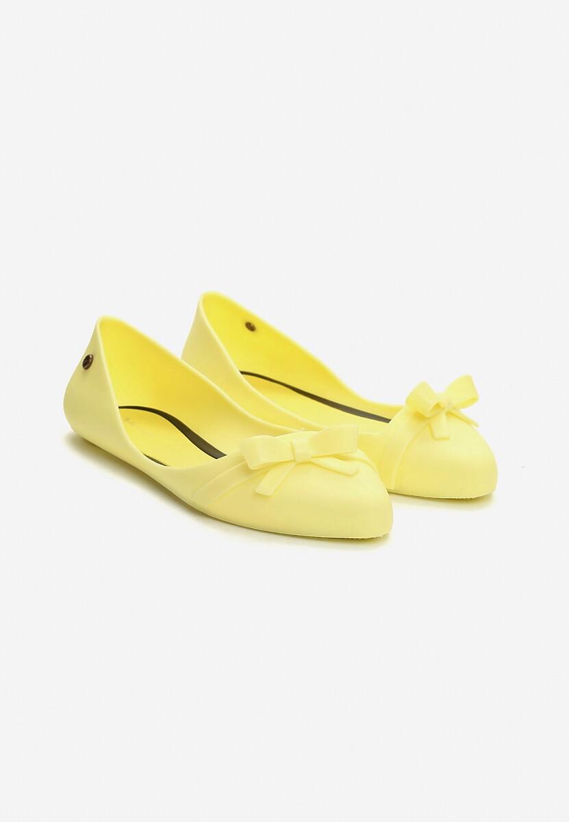 Żółte Balerinki Nova Chick
