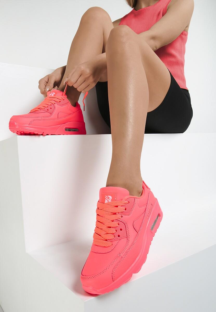 efc84526fdd3f Koralowe Neonowe Buty Sportowe Peach Perfect w Renee.pl