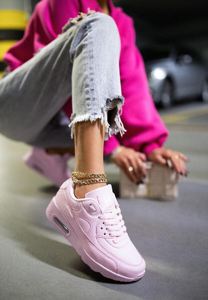 Różowe Buty Sportowe Peach Perfect