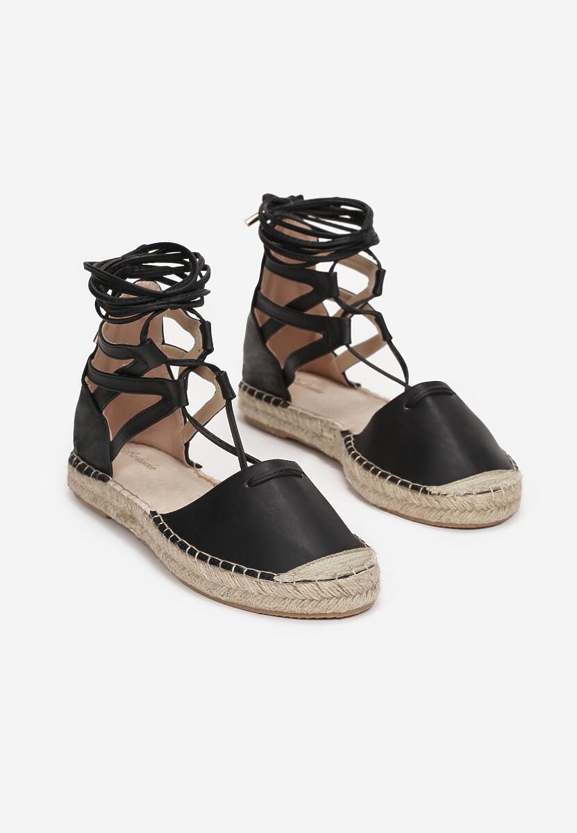 Czarne Sandały Ciridorise