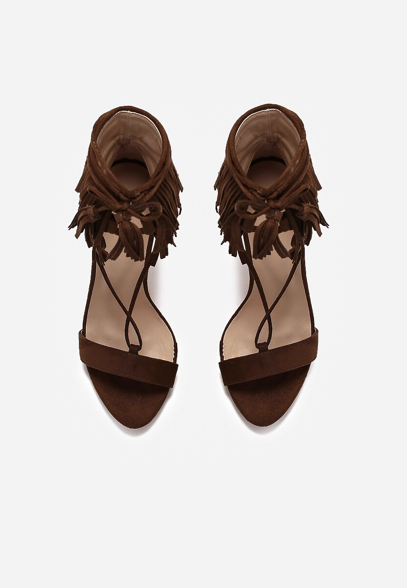 Brązowe Sandały Wild Nair