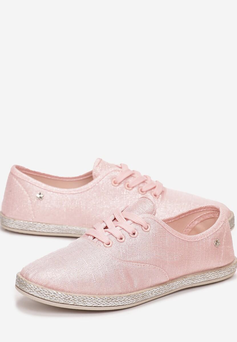 Różowe Tenisówki Pansy