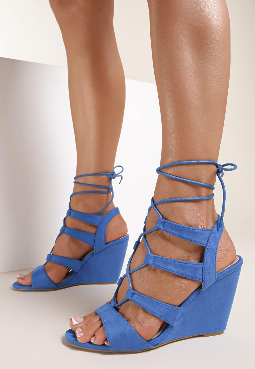Kobaltowe Sandały Arbela