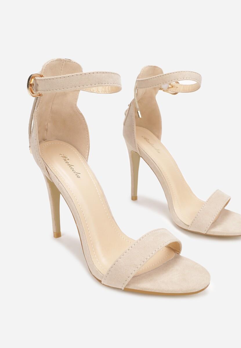 Beżowe Sandały Nysathera