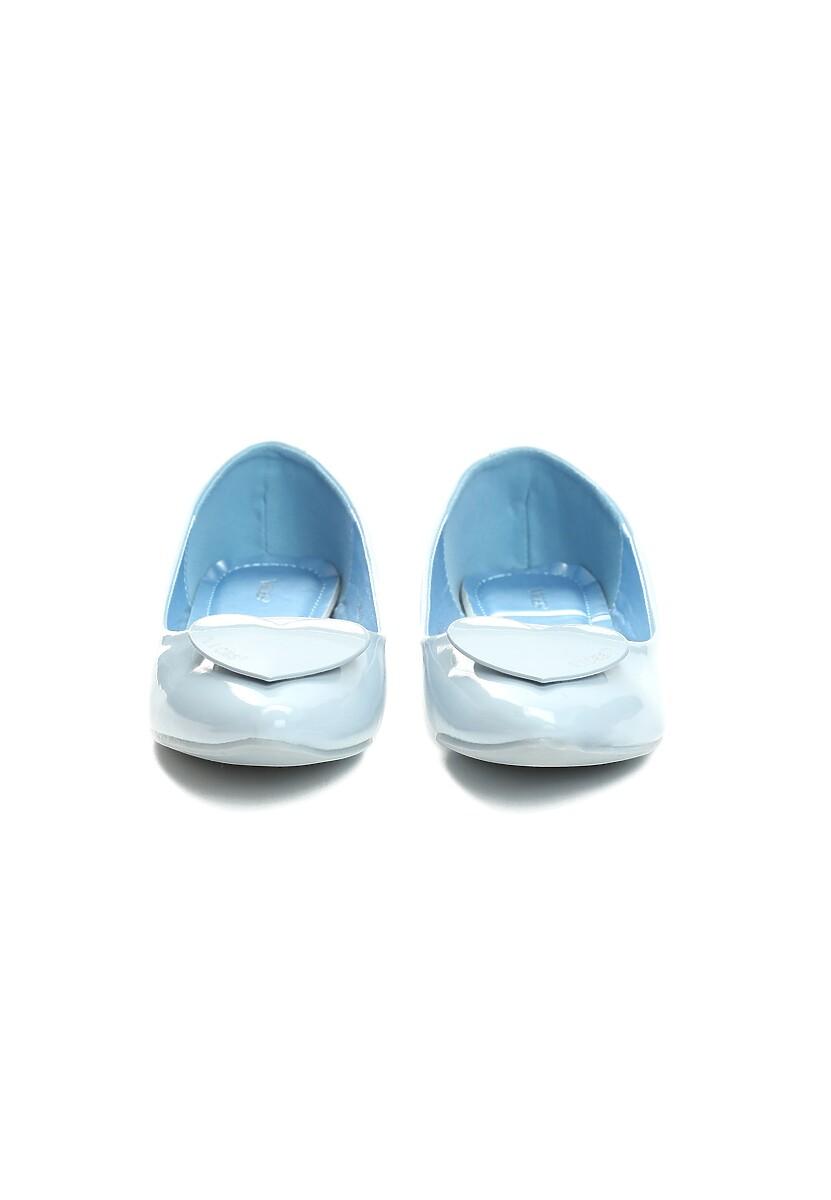 Niebieskie Balerinki Dalia