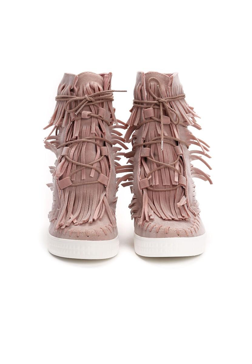 Różowe Sneakersy Capital Letters