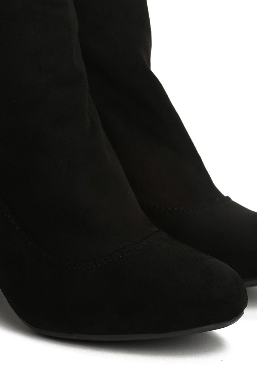 Czarne Botki Nova