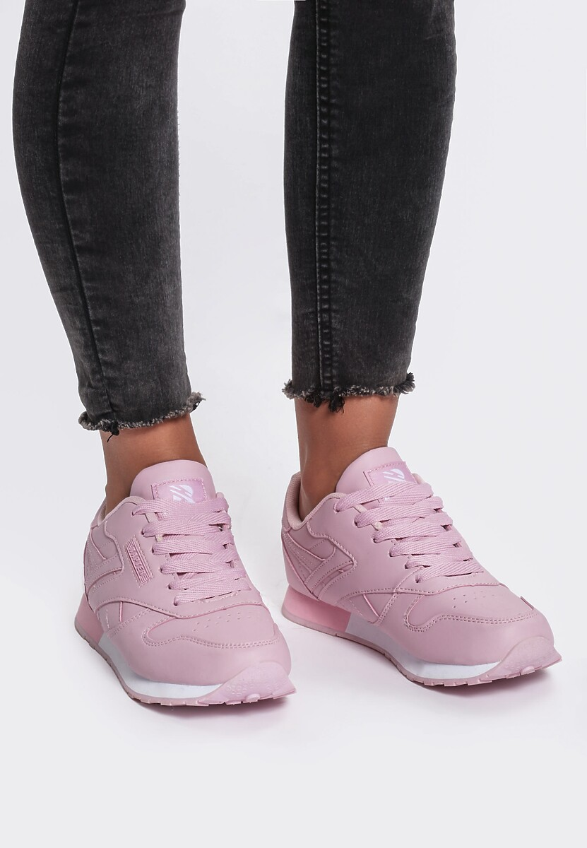 Różowe Buty Sportowe Gemini