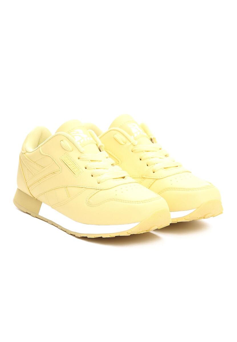 Żółte Buty Sportowe Gemini