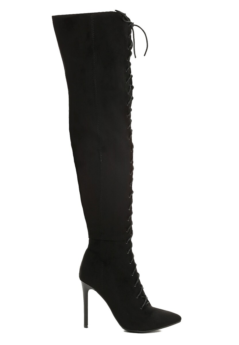 Czarne Kozaki Lorcan