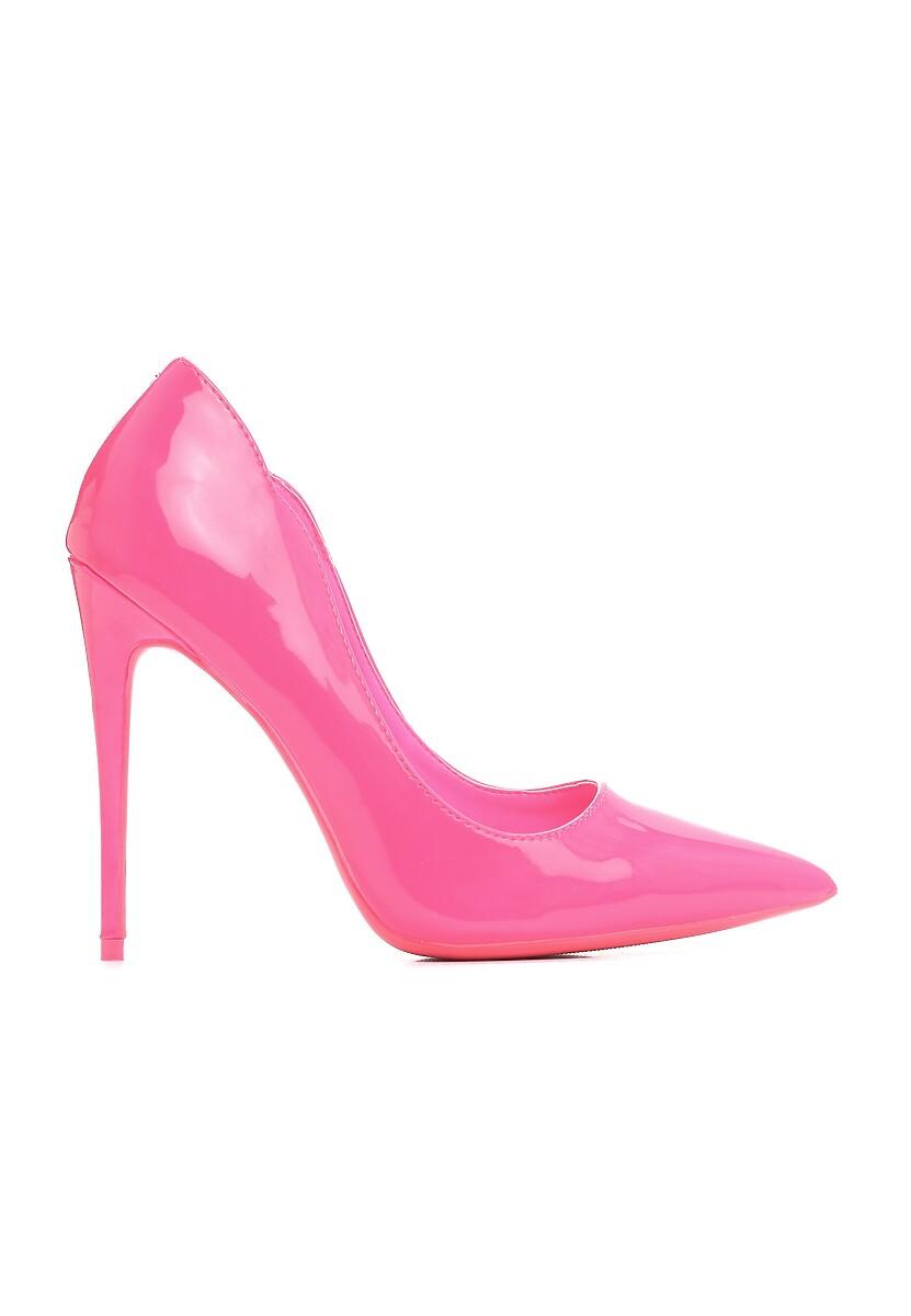 Różowe Neonowe Szpilki Pisces