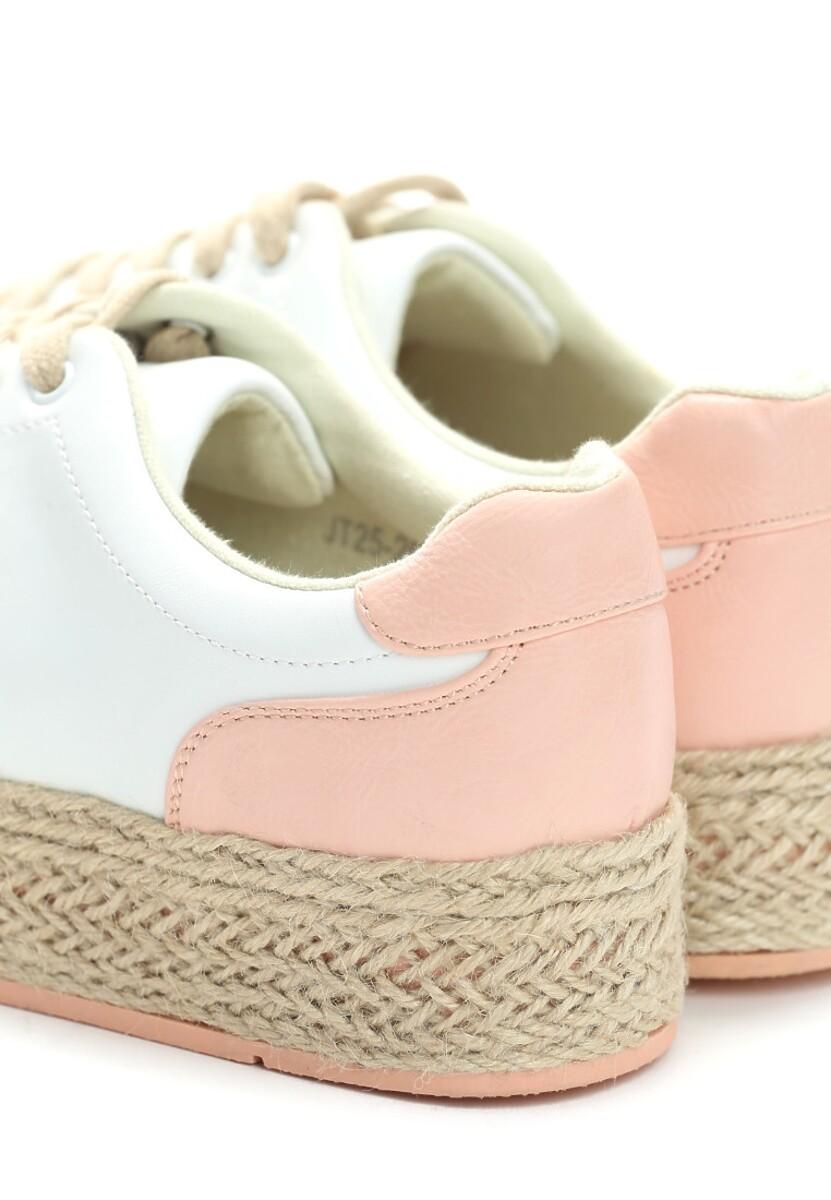 Biało-Różowe Creepersy Vintage Born