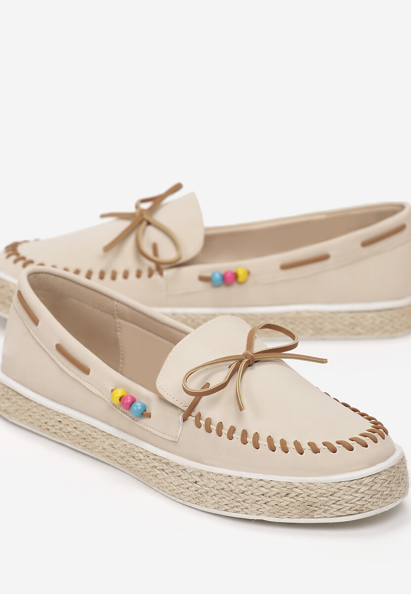 Beżowe Espadryle Blend Together