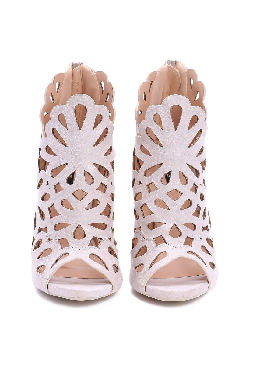 Beżowe Sandały Preciose