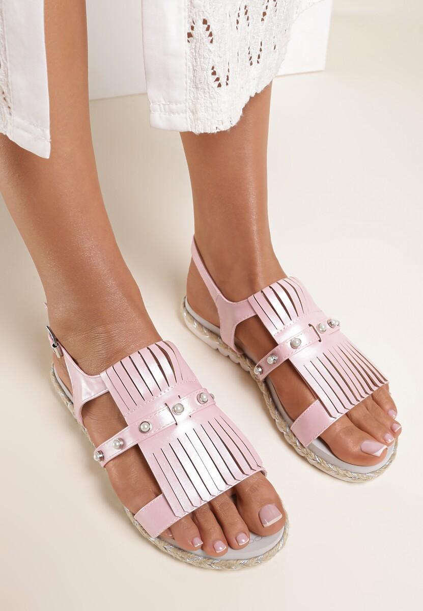 Różowe Sandały Elysian