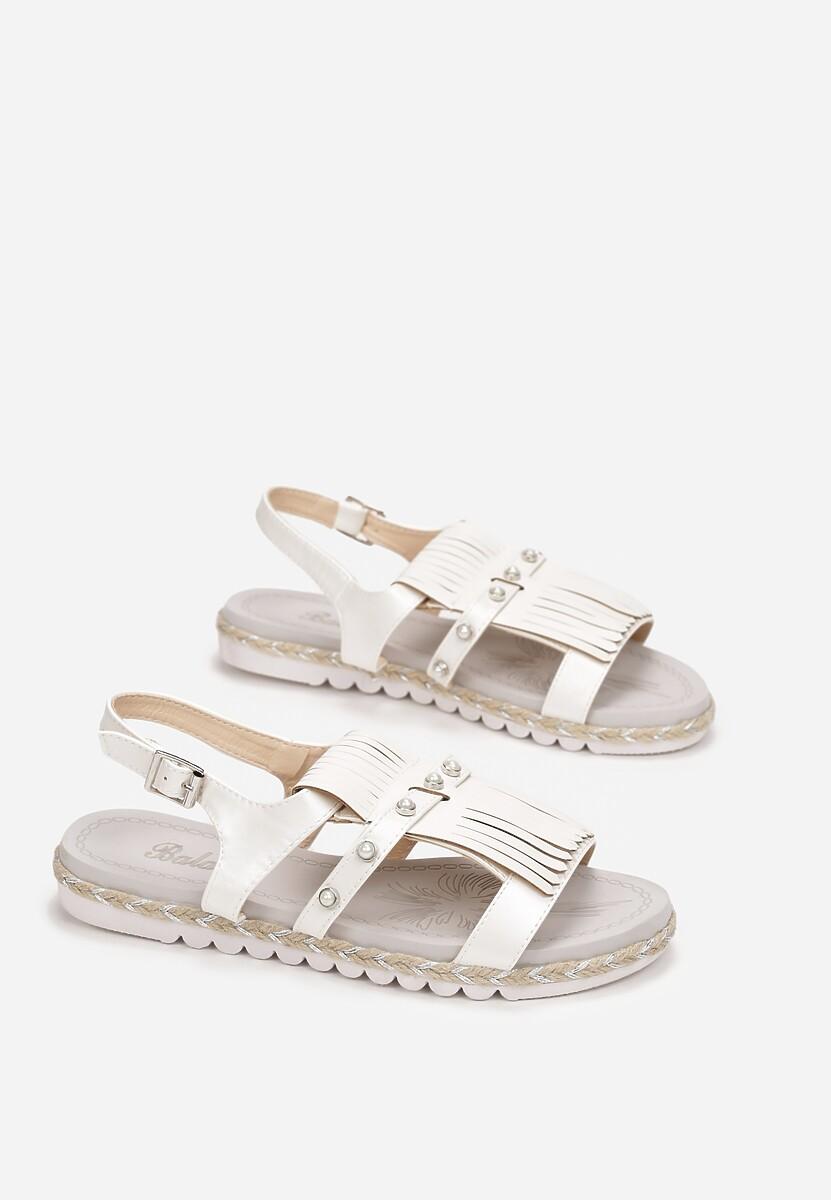 Beżowe Sandały Elysian