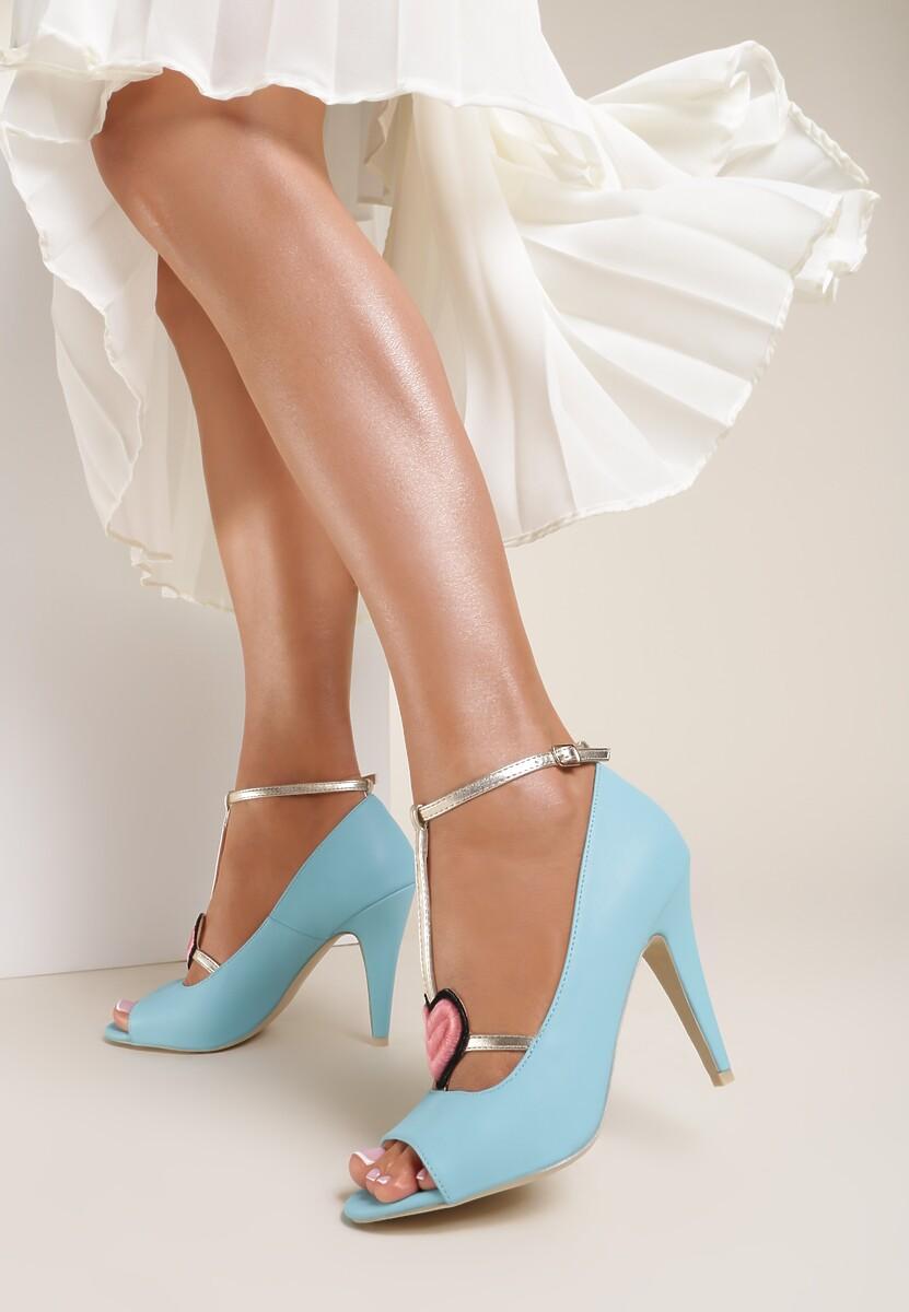 Niebieskie Sandały Aboriginal