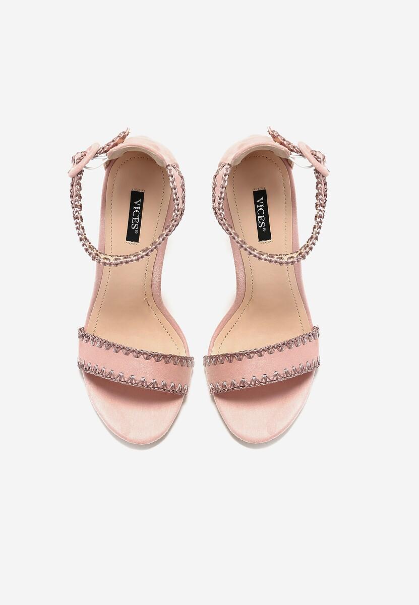 Różowe Sandały Sonorous