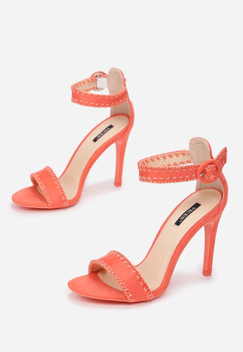 Koralowe Sandały Sonorous