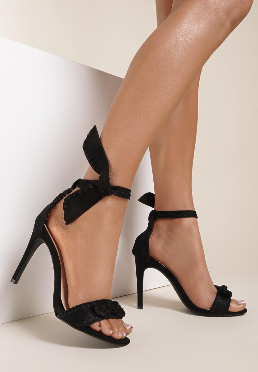 Czarne Sandały Serendipity