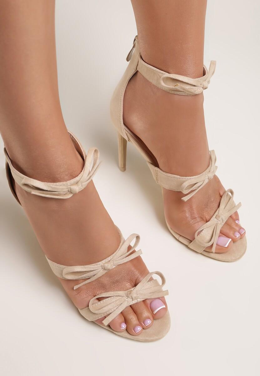 Beżowe Sandały Numinous