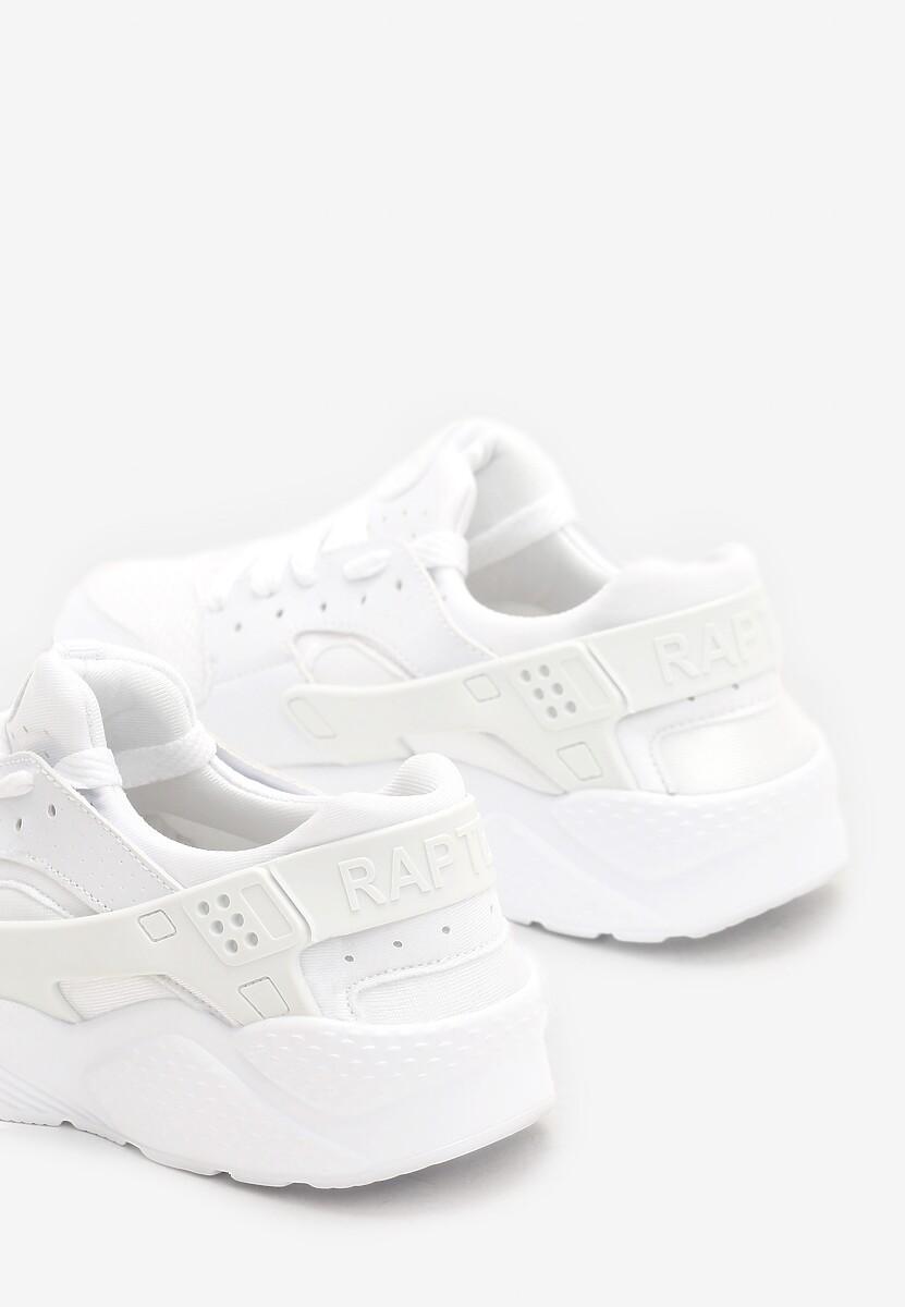 Białe Buty Sportowe Flexible