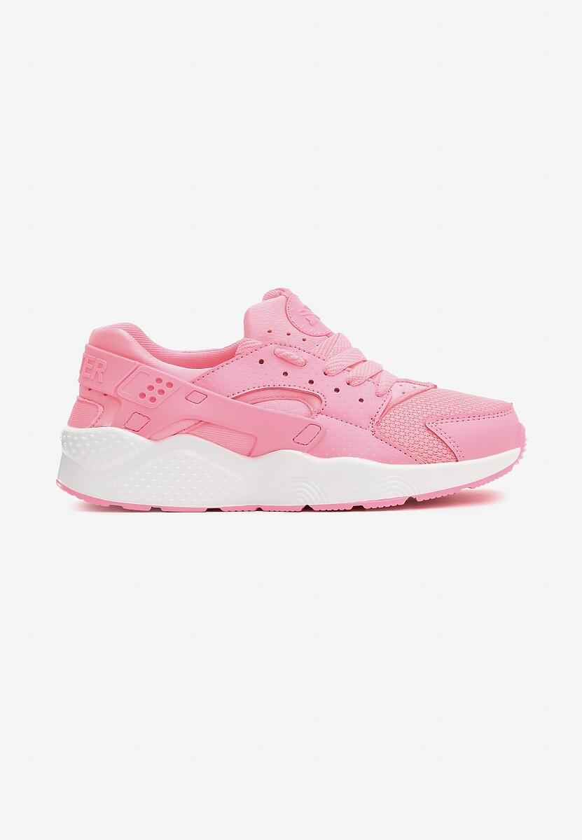 Różowe Neonowe Buty Sportowe Flexible
