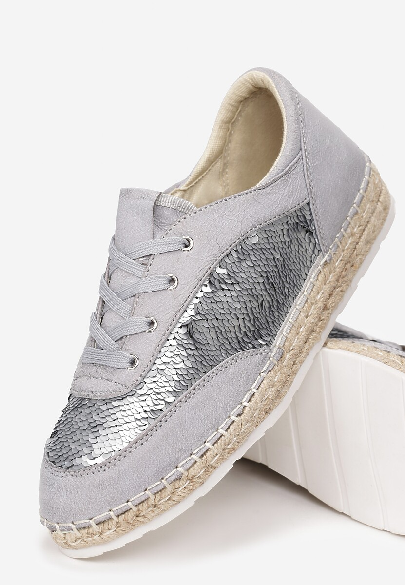 Szare Espadryle Rich And Fame