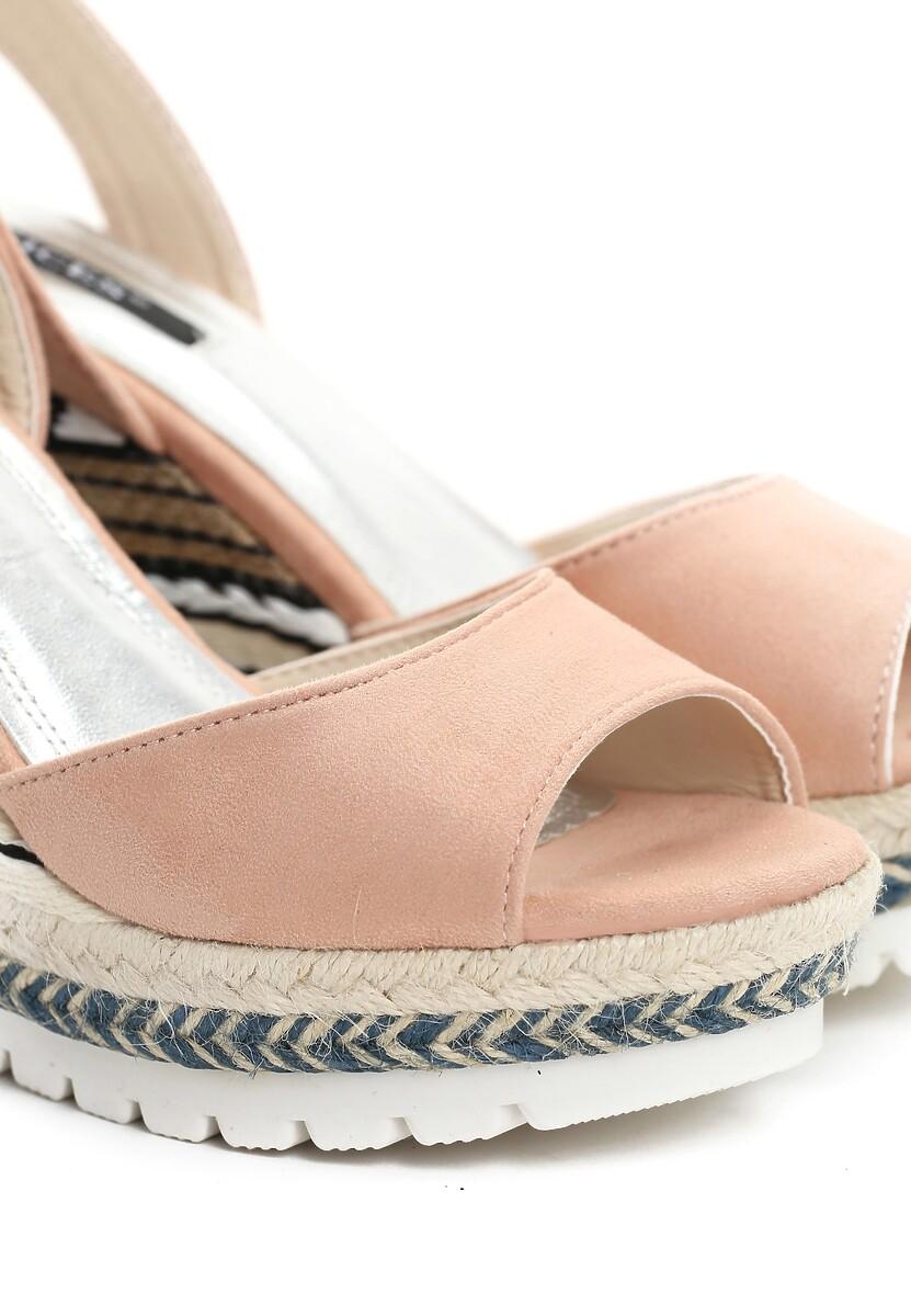 Różowe Sandały Luck Charm
