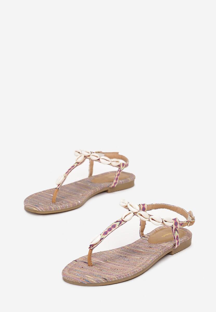 Beżowe Sandały Luxuriant