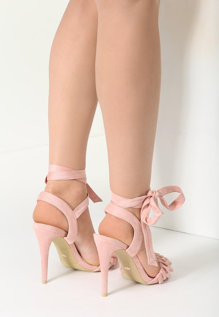 Różowe Sandały Enthusiasm